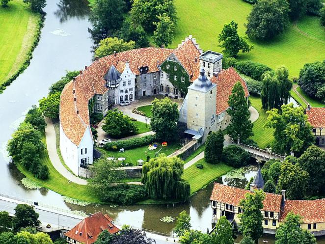 Burg von oben