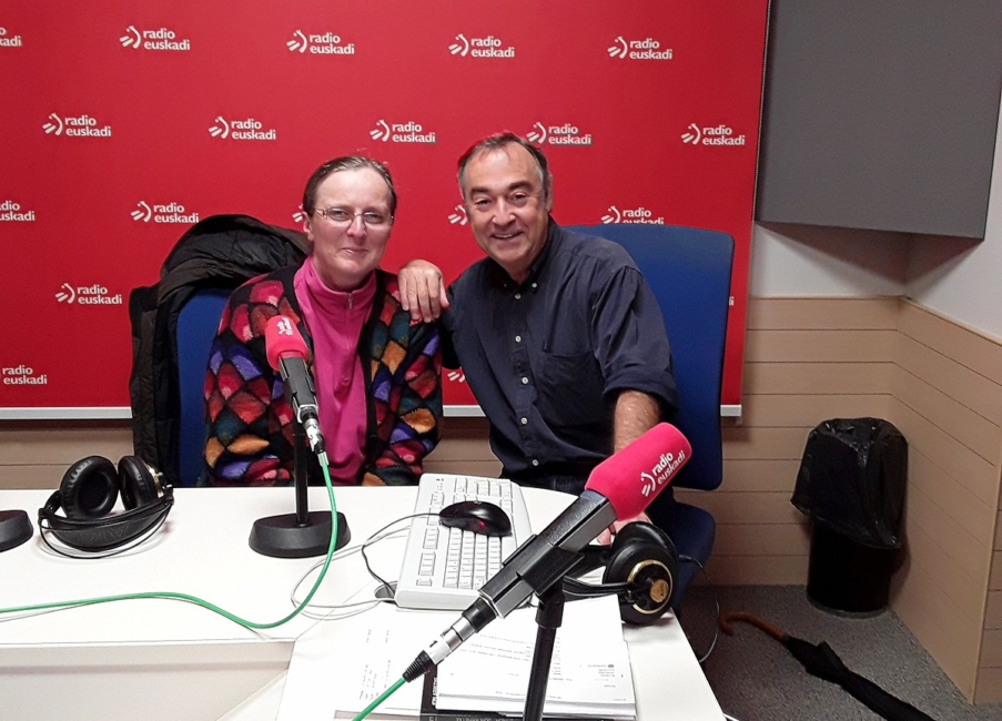 "30-11-2017 interview by Roge Blasco ""Casa de la Palabra"" (Radio Euskadi)"